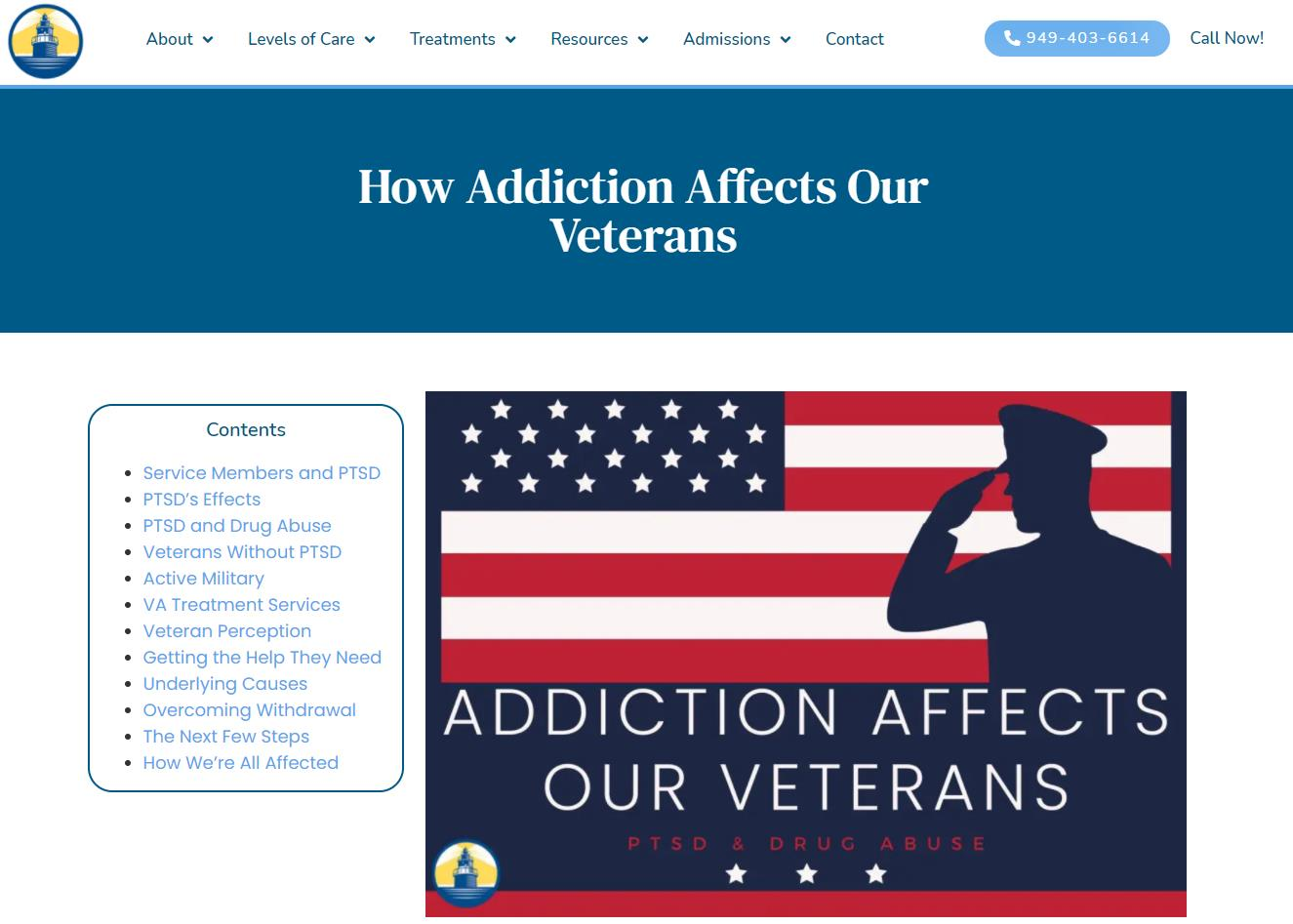 HOW ADDICTION AFFECTS VETERANS